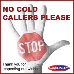 No cold callers downloadable door sign