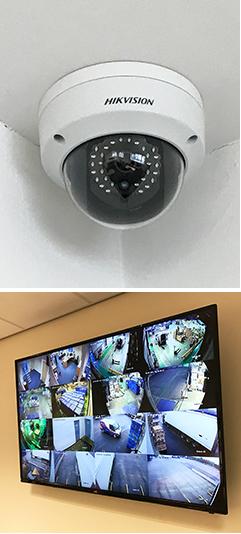 CCTV monitor and camera