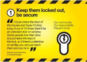 WYP anti burglary poster 1