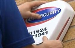 burglar alarm installation