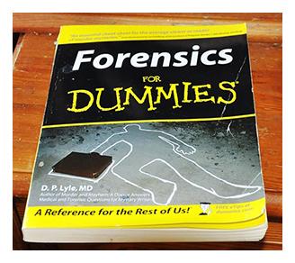 Forensics book Hatton Garden