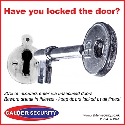 Have you locked the door downloadable sign