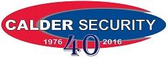 Calder 40 year logo