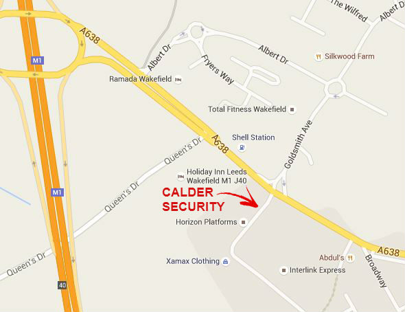 Calder Security new shop location