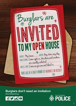 SYP Christmas burglary campaign