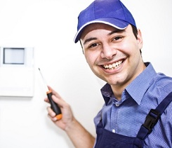 Burglar alarm engineer