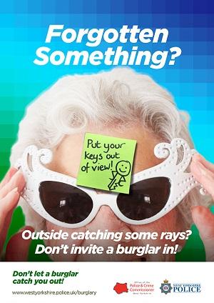 WYP spring burglary campaign 2017