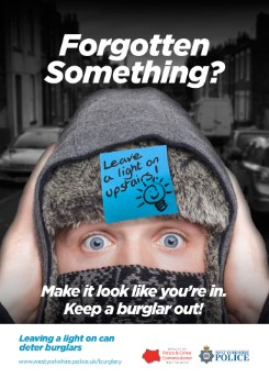 WYP anti-burglary winter campaign 2017