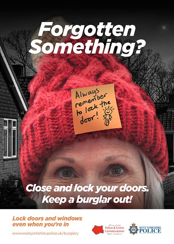 WYP anti burglary campaign - windows