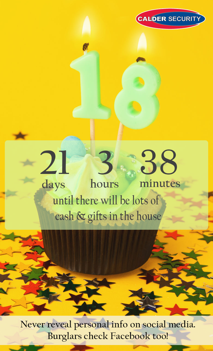 Holiday countdown - birthday