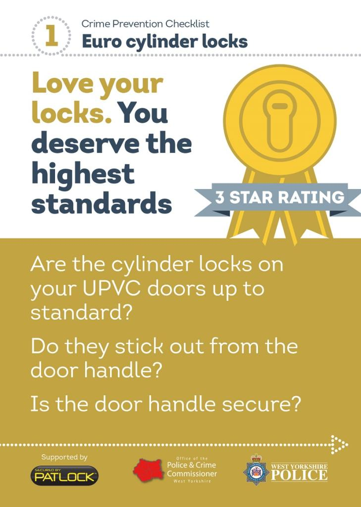WYP spring burglary campaign - locks