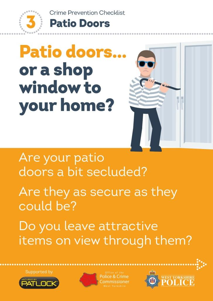 WYP spring burglary campaign - patio doors